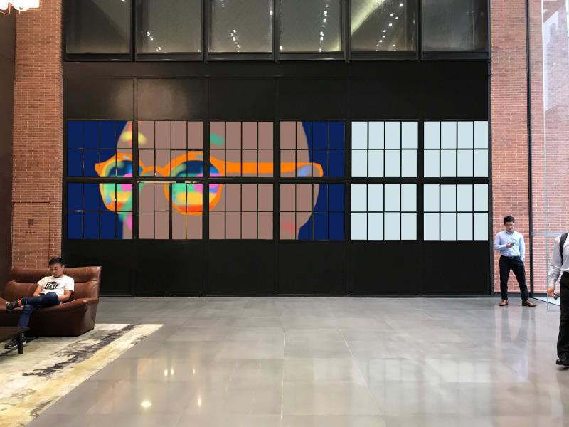 1.窗贴—手机绘画:2016.11.26